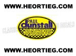 Paul Dunstall Racing Tank and Fairing Transfer Decal DDUN2-8